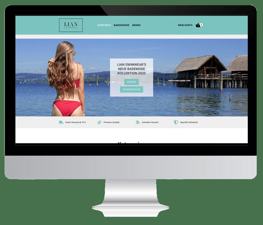 Webdesign Shop Saarbrücken